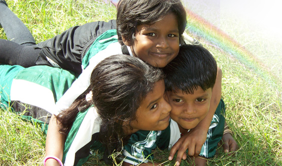 Sponsor a child in India.